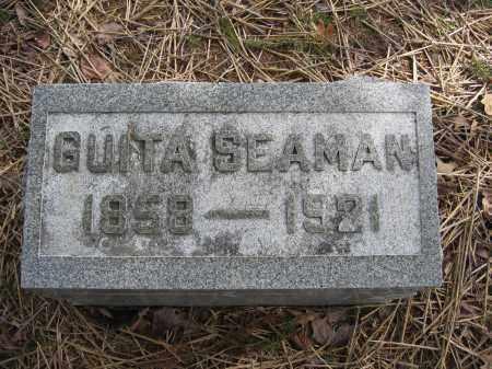 SEAMAN, GUITA - Union County, Ohio | GUITA SEAMAN - Ohio Gravestone Photos