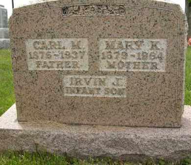 SEELEY, IRVIN J. - Union County, Ohio | IRVIN J. SEELEY - Ohio Gravestone Photos
