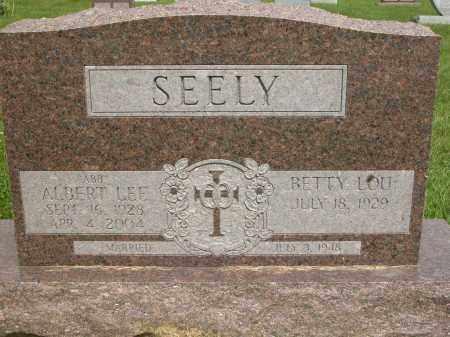 SEELY, ALBERT LEE - Union County, Ohio | ALBERT LEE SEELY - Ohio Gravestone Photos