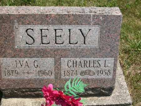 SEELY, IVA - Union County, Ohio | IVA SEELY - Ohio Gravestone Photos