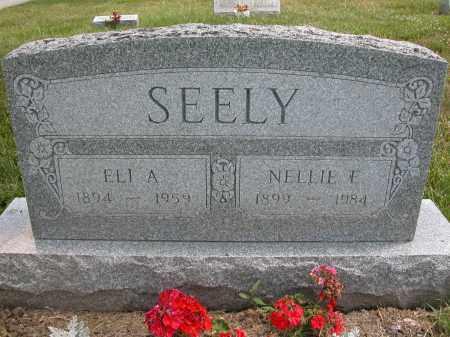 SEELY, NELLIE E. - Union County, Ohio   NELLIE E. SEELY - Ohio Gravestone Photos