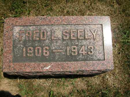 SEELY, FRED L. - Union County, Ohio | FRED L. SEELY - Ohio Gravestone Photos