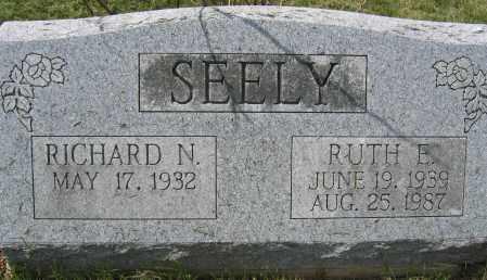 SEELY, RUTH E. - Union County, Ohio | RUTH E. SEELY - Ohio Gravestone Photos