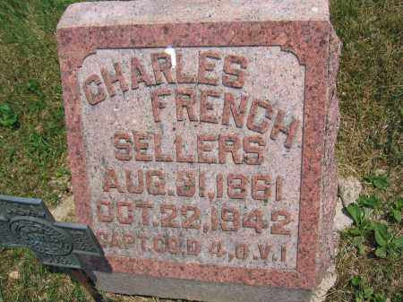 SELLERS, CHARLES FRENCH - Union County, Ohio | CHARLES FRENCH SELLERS - Ohio Gravestone Photos
