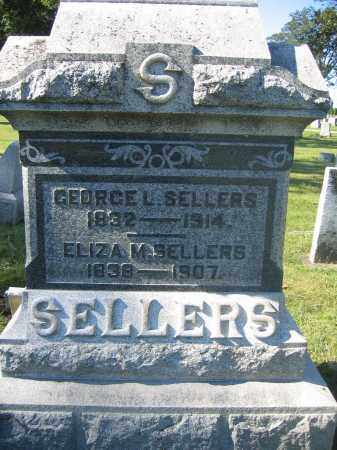 SELLERS, GEORGE L. - Union County, Ohio | GEORGE L. SELLERS - Ohio Gravestone Photos