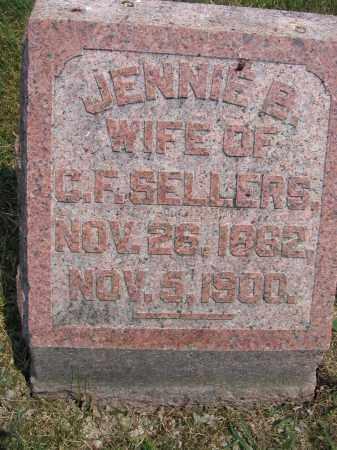 SELLERS, JENNIE B. - Union County, Ohio | JENNIE B. SELLERS - Ohio Gravestone Photos