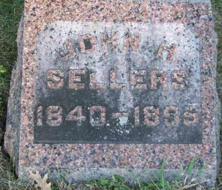 SELLERS, JOHN H - Union County, Ohio | JOHN H SELLERS - Ohio Gravestone Photos