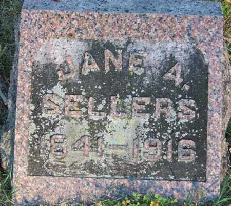 SELLERS, JANE A - Union County, Ohio   JANE A SELLERS - Ohio Gravestone Photos