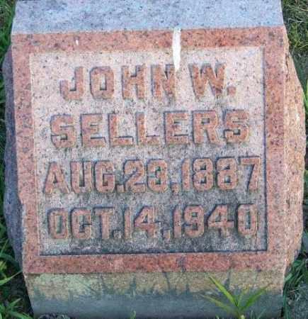SELLERS, JOHN W - Union County, Ohio   JOHN W SELLERS - Ohio Gravestone Photos