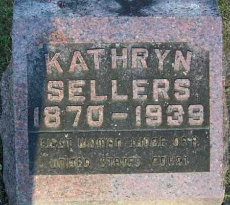 SELLERS, KATHRYN - Union County, Ohio | KATHRYN SELLERS - Ohio Gravestone Photos