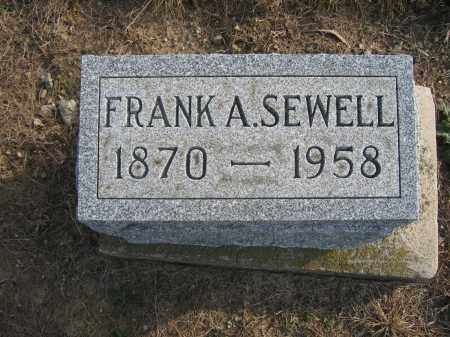 SEWELL, FRANK A. - Union County, Ohio | FRANK A. SEWELL - Ohio Gravestone Photos