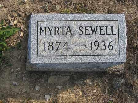 SEWELL, MYRTA - Union County, Ohio | MYRTA SEWELL - Ohio Gravestone Photos