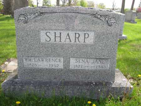 SHARP, WILLIAM LAWRENCE - Union County, Ohio | WILLIAM LAWRENCE SHARP - Ohio Gravestone Photos