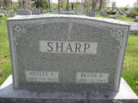 SHARP, BESSIE R. - Union County, Ohio | BESSIE R. SHARP - Ohio Gravestone Photos