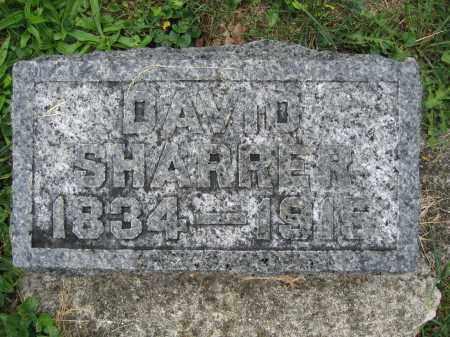 SHARRER, DAVID - Union County, Ohio | DAVID SHARRER - Ohio Gravestone Photos