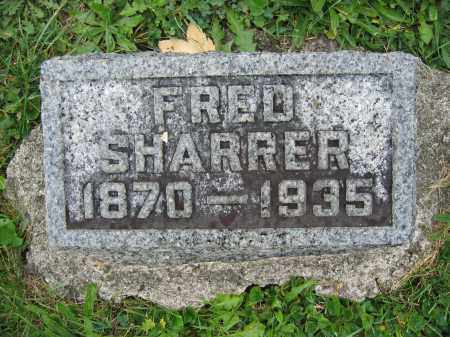 SHARRER, FRED - Union County, Ohio | FRED SHARRER - Ohio Gravestone Photos