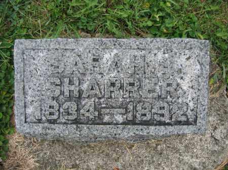 SHARRER, SARAH J. - Union County, Ohio   SARAH J. SHARRER - Ohio Gravestone Photos
