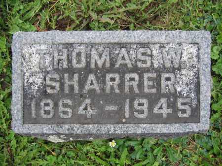 SHARRER, THOMAS W. - Union County, Ohio   THOMAS W. SHARRER - Ohio Gravestone Photos
