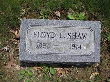 SHAW, FLOYD - Union County, Ohio | FLOYD SHAW - Ohio Gravestone Photos