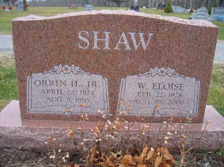 SHAW, W. ELOISE - Union County, Ohio | W. ELOISE SHAW - Ohio Gravestone Photos