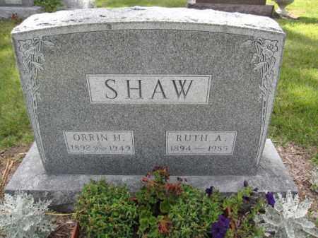 SHAW, RUTH A. - Union County, Ohio | RUTH A. SHAW - Ohio Gravestone Photos