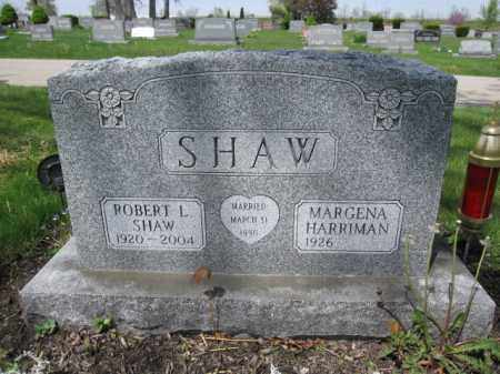 SHAW, MARGENA HARRIMAN - Union County, Ohio   MARGENA HARRIMAN SHAW - Ohio Gravestone Photos