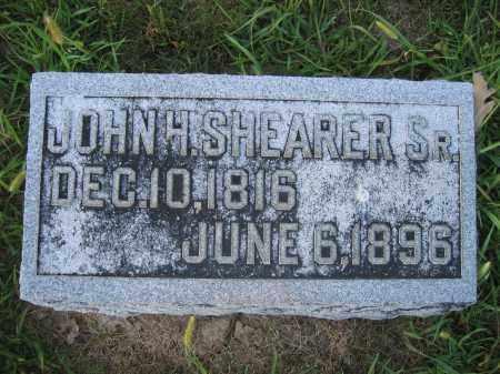 SHEARER, JOHN H. - Union County, Ohio   JOHN H. SHEARER - Ohio Gravestone Photos