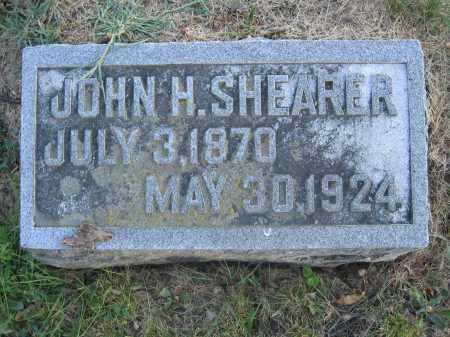 SHEARER, JOHN H. - Union County, Ohio | JOHN H. SHEARER - Ohio Gravestone Photos