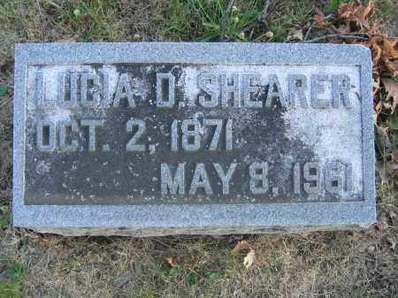 SHEARER, LUCIA D. - Union County, Ohio | LUCIA D. SHEARER - Ohio Gravestone Photos