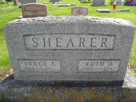 SHEARER, RUTH D. - Union County, Ohio | RUTH D. SHEARER - Ohio Gravestone Photos