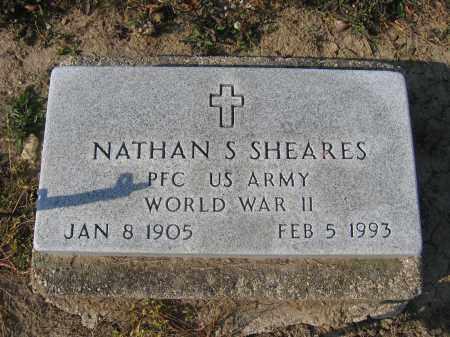 SHEARES, NATHAN S. - Union County, Ohio   NATHAN S. SHEARES - Ohio Gravestone Photos