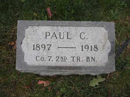 SHELTON, PAUL C. - Union County, Ohio | PAUL C. SHELTON - Ohio Gravestone Photos