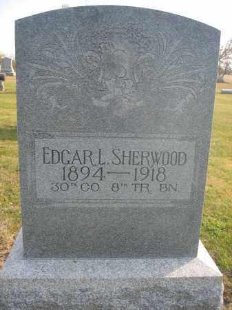 SHERWOOD, EDGAR L. - Union County, Ohio   EDGAR L. SHERWOOD - Ohio Gravestone Photos