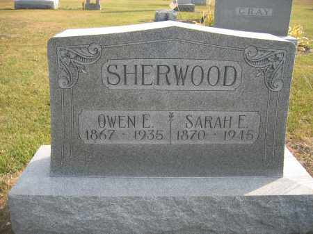 SHERWOOD, OWEN E. - Union County, Ohio | OWEN E. SHERWOOD - Ohio Gravestone Photos
