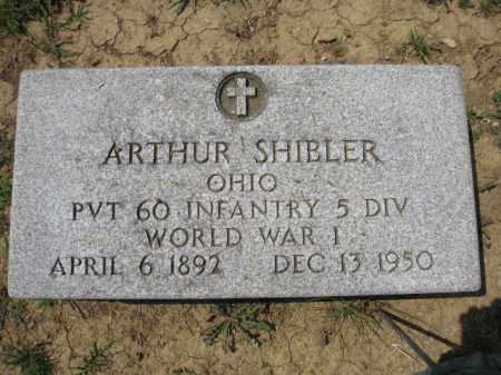 SHIBLER, ARTHUR - Union County, Ohio | ARTHUR SHIBLER - Ohio Gravestone Photos