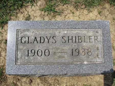 SHIBLER, GLADYS - Union County, Ohio   GLADYS SHIBLER - Ohio Gravestone Photos