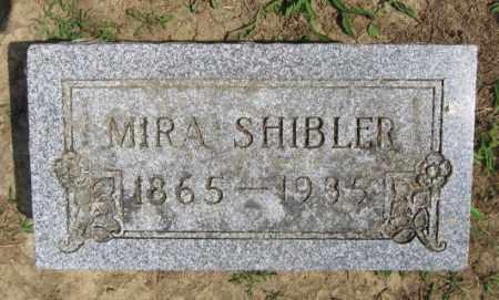 SHIBLER, MIRA - Union County, Ohio   MIRA SHIBLER - Ohio Gravestone Photos