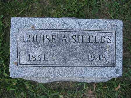 SHIELDS, LOUISE A. - Union County, Ohio | LOUISE A. SHIELDS - Ohio Gravestone Photos