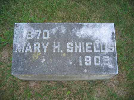 SHIELDS, MARY H. - Union County, Ohio | MARY H. SHIELDS - Ohio Gravestone Photos