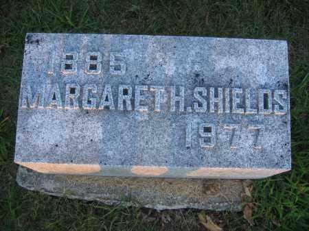 SHIELDS, MARGARETH - Union County, Ohio | MARGARETH SHIELDS - Ohio Gravestone Photos