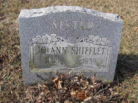 SHIFFLET, JO ANN - Union County, Ohio | JO ANN SHIFFLET - Ohio Gravestone Photos