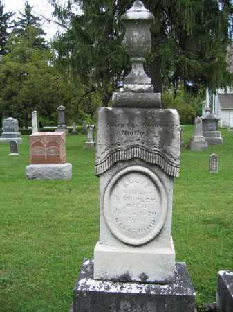 SHIPLEY, ABBIE - Union County, Ohio | ABBIE SHIPLEY - Ohio Gravestone Photos