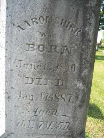 SHIRK, AARON - Union County, Ohio | AARON SHIRK - Ohio Gravestone Photos