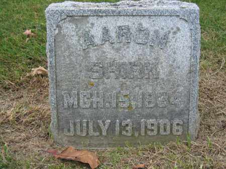 SHIRK, AARON - Union County, Ohio | AARON SHIRK - Ohio Gravestone Photos