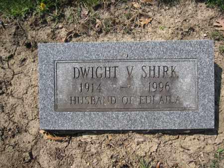 SHIRK, DWIGHT V. - Union County, Ohio | DWIGHT V. SHIRK - Ohio Gravestone Photos