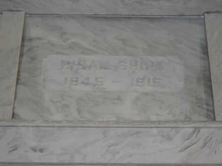 SHIRK, HIRAM - Union County, Ohio   HIRAM SHIRK - Ohio Gravestone Photos