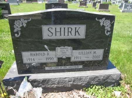SHIRK, LILLIAN M. - Union County, Ohio | LILLIAN M. SHIRK - Ohio Gravestone Photos