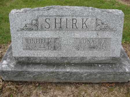 SHIRK, WINFIELD R. - Union County, Ohio | WINFIELD R. SHIRK - Ohio Gravestone Photos