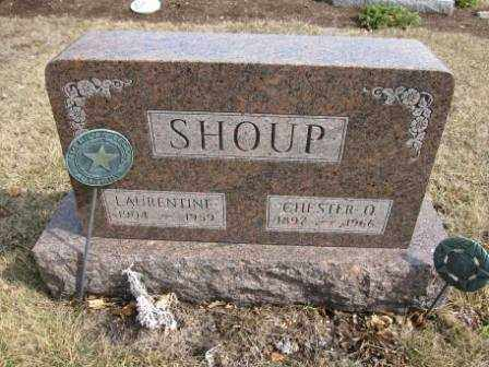 SHOUP, CHESTER O. - Union County, Ohio   CHESTER O. SHOUP - Ohio Gravestone Photos