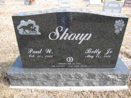 SHOUP, PAUL W. - Union County, Ohio | PAUL W. SHOUP - Ohio Gravestone Photos